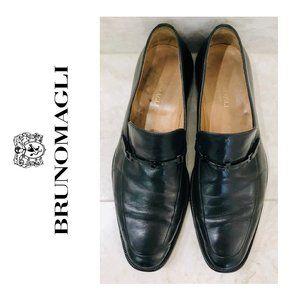 BRUNO MAGLI Bit Loafer Black {8.5} Nicodemo